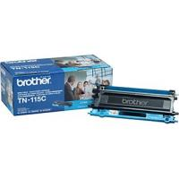 Brother TN115C Genuine Oem Cyan High Yield Toner  4,000 Pages Brother TN115C