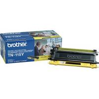 Brother TN115Y Genuine OEM Yellow High Yield Toner  4,000 Pages Brother TN115Y
