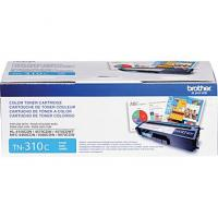 Brother TN310C Cyan Toner Cartridge; Yield: 1,500 pages Brother TN310C