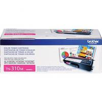 Brother TN310M Magenta Toner Cartridge; Yield: 1,500 pages Brother TN310M