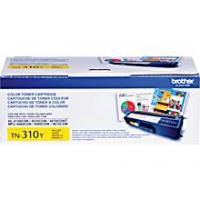Brother TN310Y Yellow Toner Cartridge; Yield: 1,500 pages Brother TN310Y