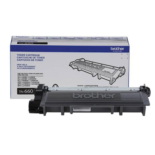 Brother TN660 Laser Cartridge High Yields (2,600 Yield) Brother TN660