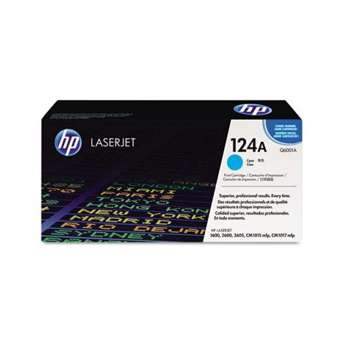 HP 124A Q6002A  HP Smart Print Cartridge, Yellow HP Q6002A