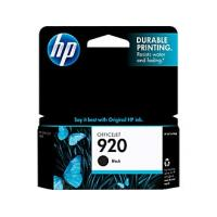 HP CD971AN (HP 920) Ink, 420 Page-Yield, Black HP CD971AN