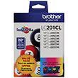 Brother Brother LC2013PKS Cyan/Magenta/Yellow Ink Cartridge 3-Pack (3 x 260 Yield)