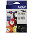 Brother Brother LC201BK Black Ink Cartridge (260 Yield)
