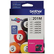 Brother Brother LC201M Magenta Ink Cartridge (260 Yield)
