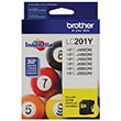 Brother Brother LC201Y Yellow Ink Cartridge (260 Yield)